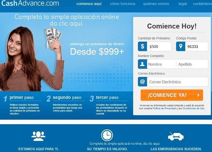 CashAdvance.com préstamos a corto plazo revisión